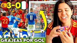 Reacción al ESPAÑA vs ITALIA con RETO POR GOL y CASTIGOS sorpresas | Dúo Dinámico