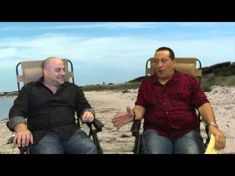 Scott Friedman Interview With NJ LIFE in beach chairs - YouTube