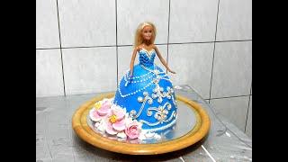 КАК СДЕЛАТЬ ТОРТ БАРБИ от SWEET BEAUTY СЛАДКАЯ КРАСОТА, BARBIE DOLL CAKE DECORATION