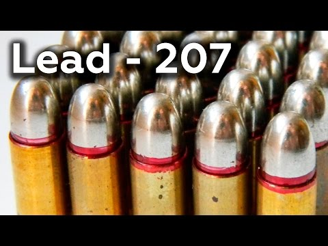 Lead - Metal That BULLETS Are Made From