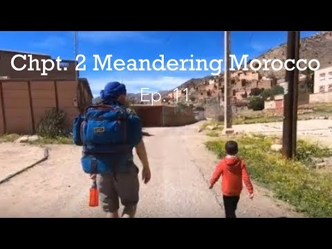 Tafraoute Morocco: Giant painted rocks & hiking Jebel el Kest. Ep. 11.