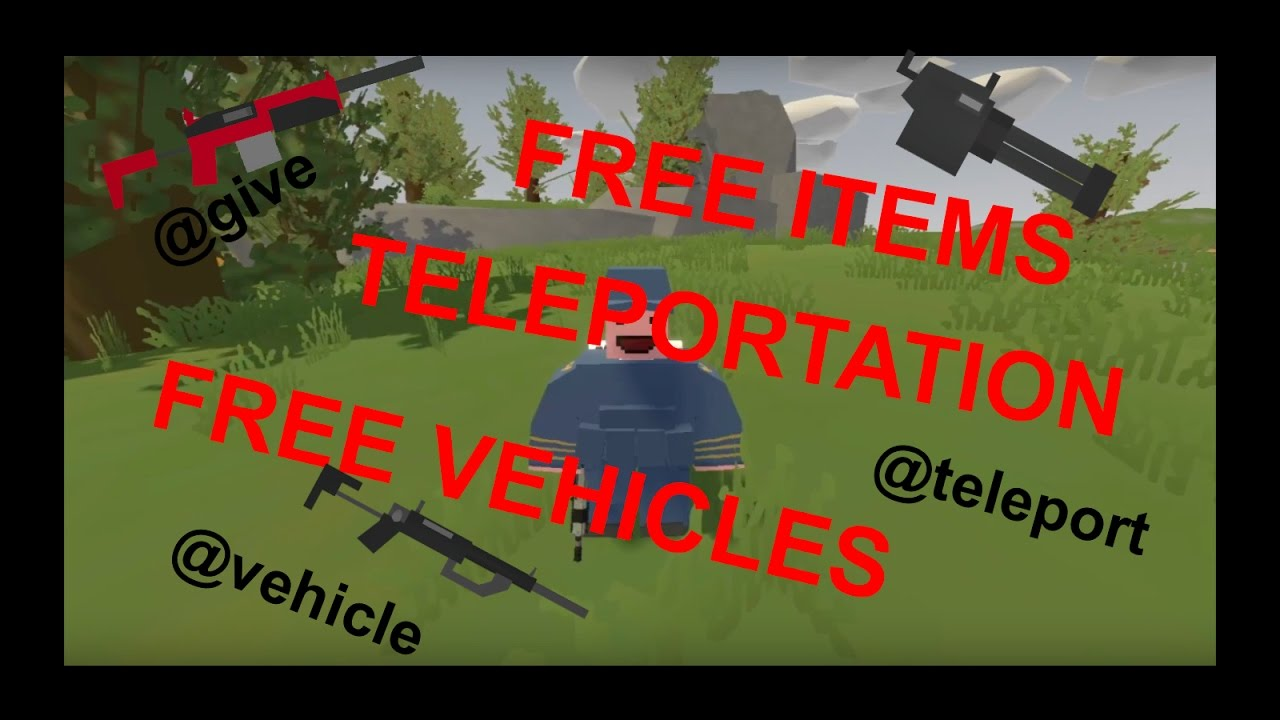 All unturned commands/cheats