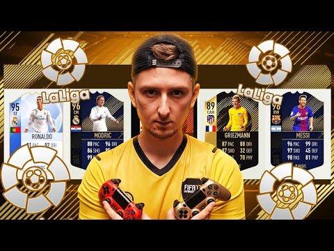 LA LIGA DRAFT - FIFA 18 CHALLENGE [#7]