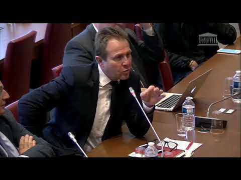 Olivier Gaillard Audition Belloubet Procédures de poursuite des infractions fiscales (3 mai 2018)