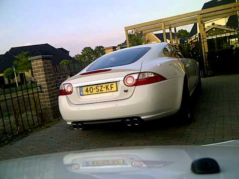 jaguar xk 4.2 v8 sound!!!!!