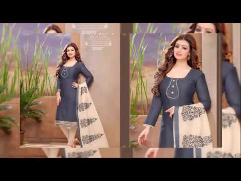 Salwar Suits  Trendy Chanderi Suits Diwali Special Collection 2016~latest new fashion collection