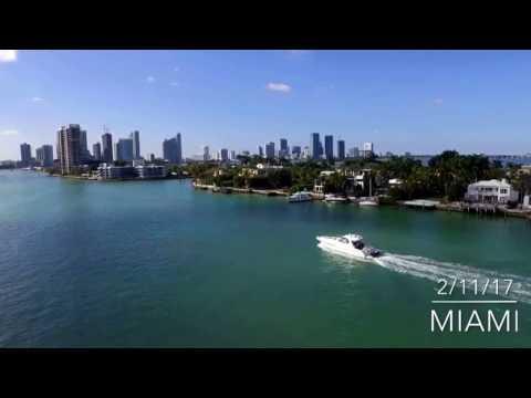 Miami | venetian causeway | dji | drone | phantom3