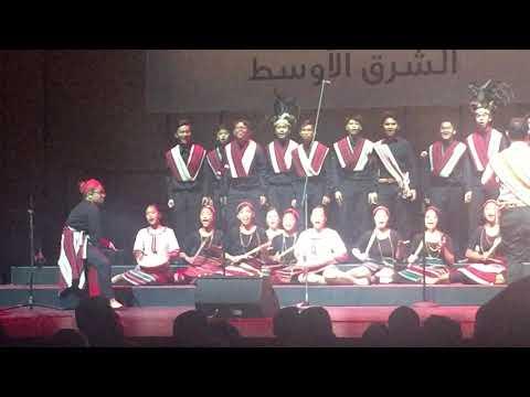 UIPS Glee Club @ Choirfest Middle East 2019