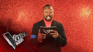 Words With will.i.am | The Voice Kids UK 2019
