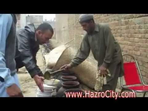 Cooking of Katwa Dish by Ghourghushti experts in Dhoke Rahmon (Hazro)