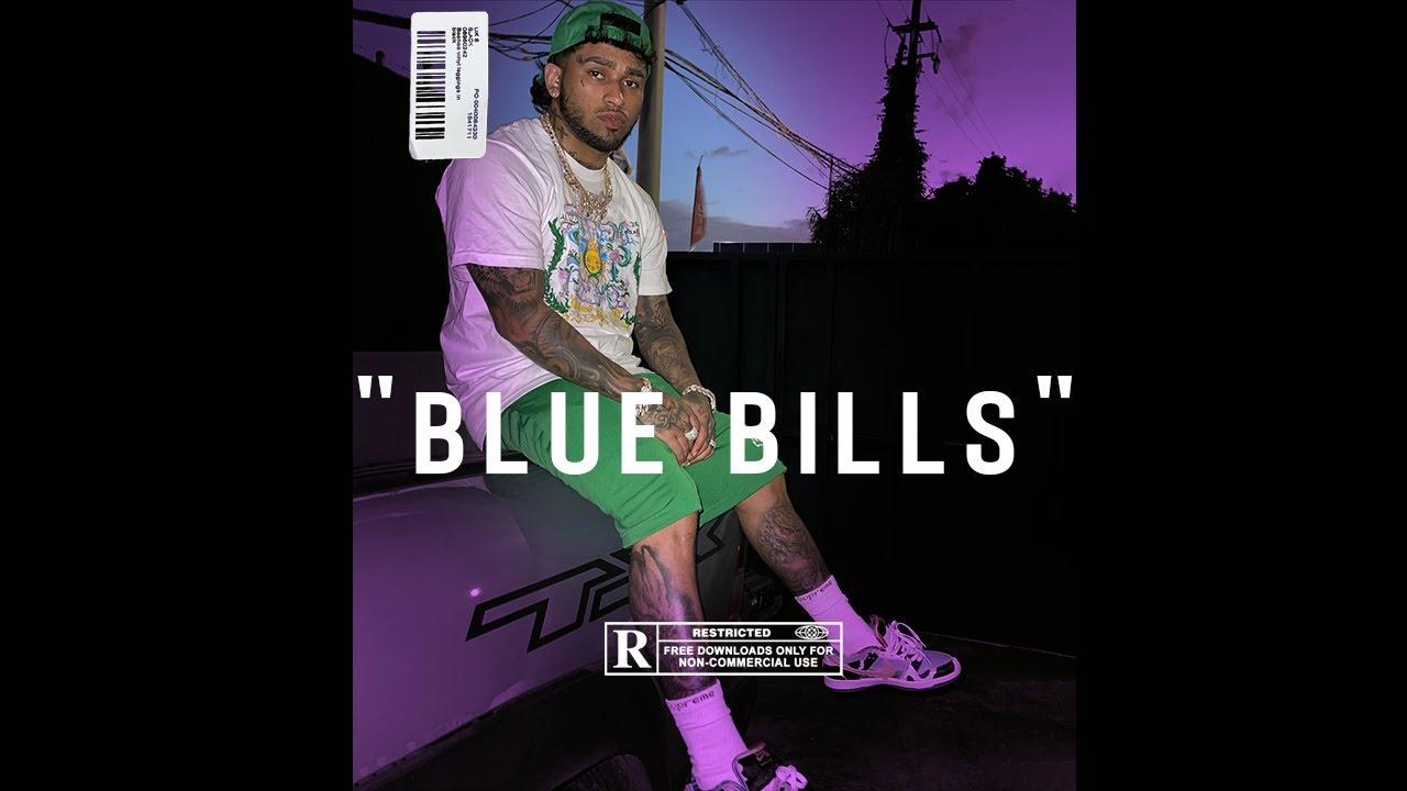 "[FREE] Bryant Myers Type Beat 2021 | ""Blue Bills"" Trap Instrumental (@8qsquare)"