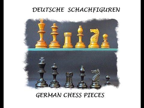 German Chess Pieces- Deutsche Schachfiguren