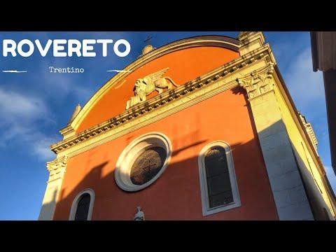 Rovereto centro storico (Trentino, Italia)