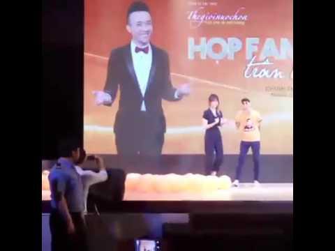 Hari Won tại Offline Fc Trấn Thành