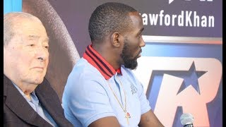 'WHY ALWAYS THE BLACK FIGHTERS EXPECTED TO ACT A CERTAIN WAY TO SELL A FIGHT?' - TERENCE CRAWFORD