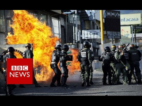 Why Venezuela still looks like this? BBC News