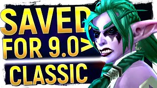 What The Lack Of Tyrande In 8.2 REALLY Means, Classic TBC & Wrath + PROS Over Live & 8.2 Nails It!