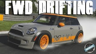 fwd drifting    2009 mini john cooper works    600hp drift build    forza 6