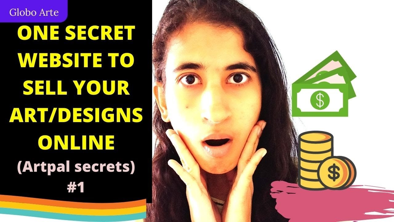 One secret way to make money online by selling art/design