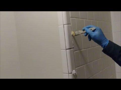 How To Install Bull Nose Trim Tiles On Outside Corner Of