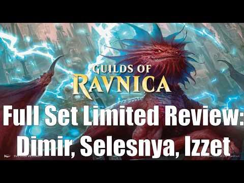 Guilds of Ravnica Full Set Limited Review:  Dimir, Selesnya, Izzet