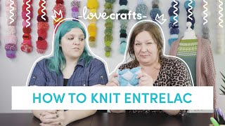 How to Knit | Entrelac
