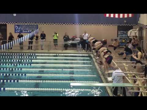 Flint area Middle School League Meet  2/23/17 - 50 Free Final
