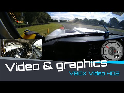 VBOX Video HD2 combines stunning HD footage with real-time graphical overlay