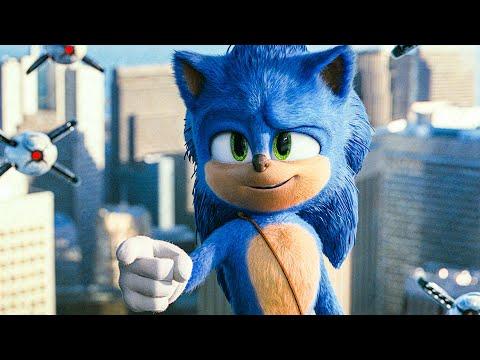 Sonic Tricks Doctor Eggman Scene - SONIC: THE HEDGEHOG (2020) Movie Clip