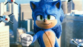 Sonic Tricks Doctor Eggman Scene - SONIC: THE HEDGEHOG (2020) Movie Clip