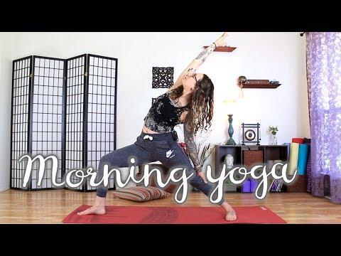 Morning Energizing Yoga Sequence - Full Body 20 Minute Revitalizing Flow