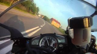 FILIP YAMAHA R1 RN19 Bezpieczna  jazda na kole 230km/h Węgrów - Siedlce
