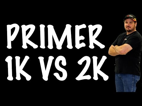 1K VS 2K Primer - Which is Better? DIY Auto Body and Paint Q&A