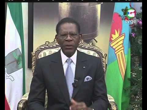 Discurso de Obiang Nguema. Fin de año 2015