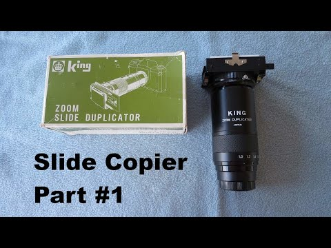 Slide copier Part 1 - YouTube