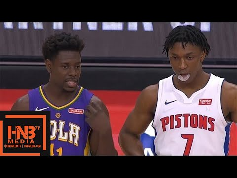 New Orleans Pelicans vs Detroit Pistons 1st Qtr Highlights / Feb 12 / 2017-18 NBA Season