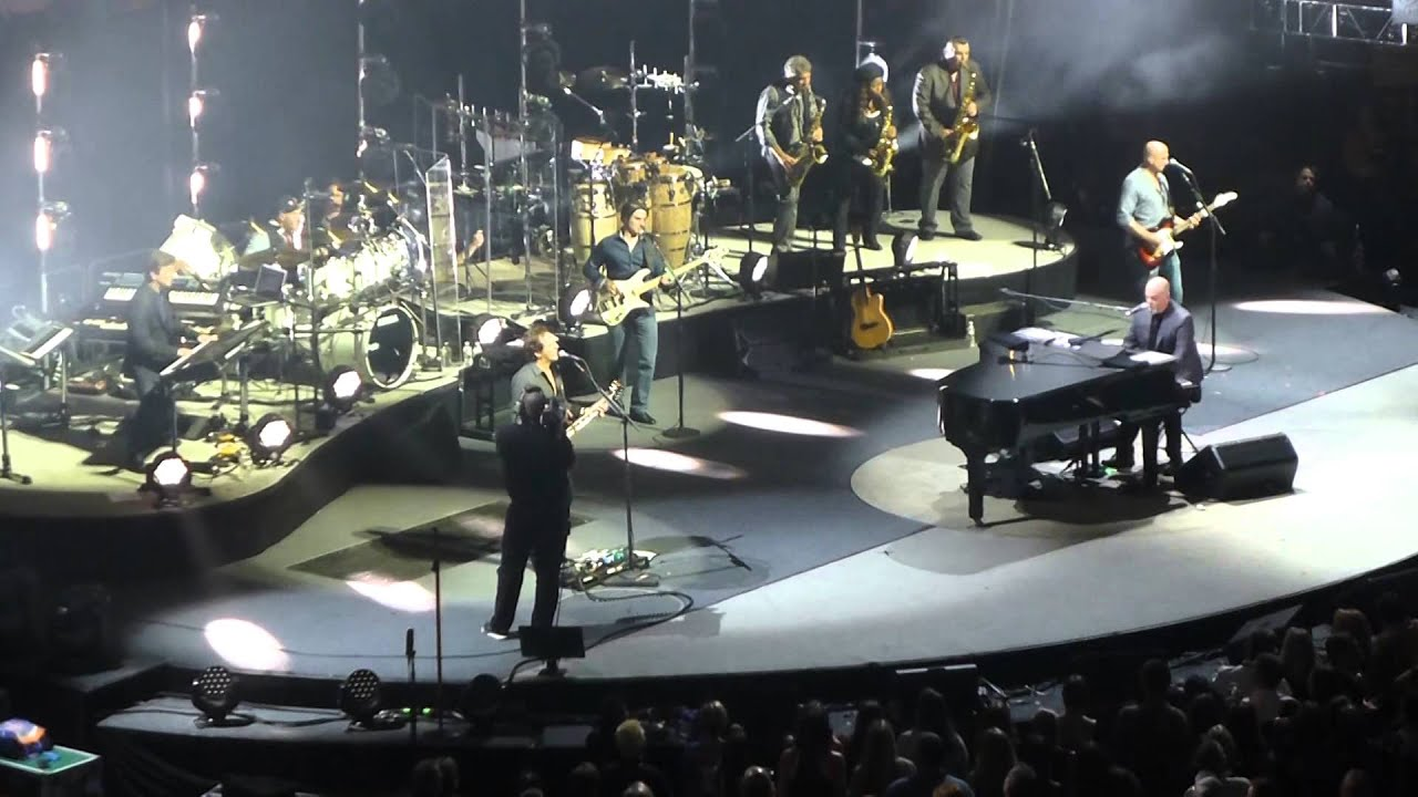 Billy Joel Big Shot HD Madison Square Garden 9 26 2015 YouTube