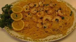 Betty's Seaside Shrimp Scampi