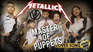 Gambar cover METALLICA - MASTER OF PUPPETS [Cover by OVERDOSE]