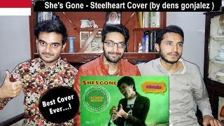 Foreigner Reacts To: She's Gone - Steelheart Cover (by dens gonjalez )