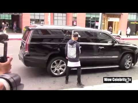 Justin Bieber spotted in Beverly Hills
