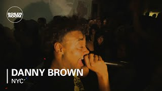 Danny Brown - I Will LIVE - Boiler Room NYC