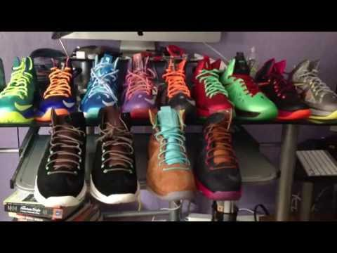 Lebron 10 Lebron X All-Star Black History Month Elite Blue Diamond Denim Hazelnut Black Suede Ext