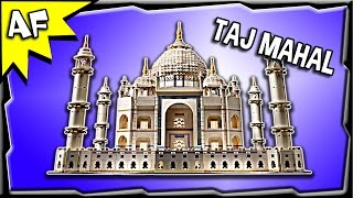 Lego Creator TAJ MAHAL 10189 Advanced Model Stop Motion Build Review