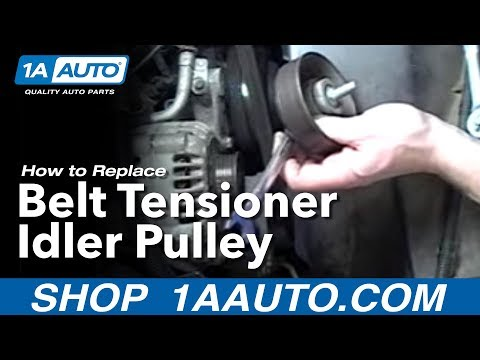 How To Replace Belt Tensioner 92-99 Chevy Suburban