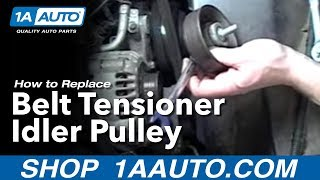 Mqdefault on Idler Pulley Bearing Replacement How To Youtube