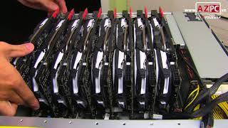 16 x GTX 1080 Ti , 4 x E5-2699 V4, 1,5TB RAM, stack by dual Asus ESC8000 G3 | AZPC TV