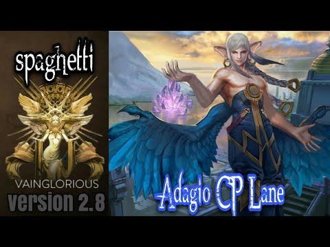 spaghetti   Adagio CP Lane - Vainglory hero gameplay from a pro player