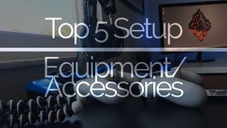 Video TOP 5 Gaming Accessories/Equipment! download MP3, 3GP, MP4, WEBM, AVI, FLV Agustus 2018