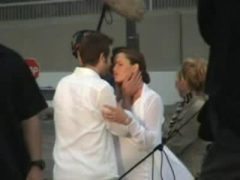 Jennifer Garner Pregnant Alias Set With Michael Vartan